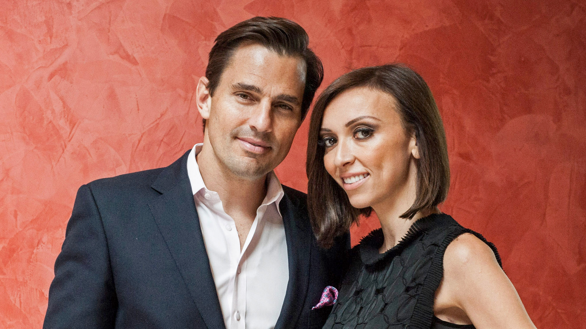 PHOTO: Bill Rancic and Giuliana Rancic pose for a portrait at the 2013 Columbus Day luncheon at the Embassy of Italy on Oct. 14, 2013 in Washington.
