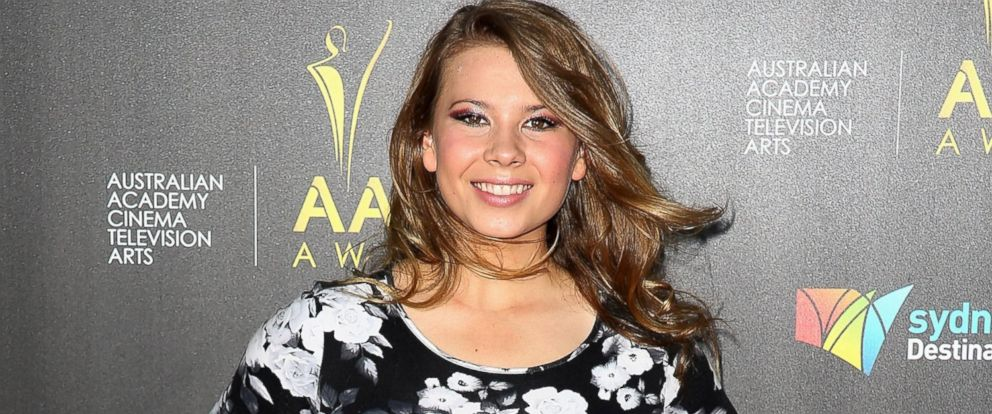 PHOTO: Bindi Irwin arrives at the 3rd Annual AACTA Awards Ceremony at The Star, Jan. 30, 2014, in Sydney.
