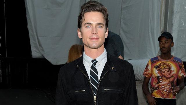 PHOTO:Matt Bomer attends Mercedes-Benz Fashion Week in New York, Sept. 6, 2013.