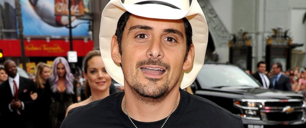 """PHOTO: Brad Paisley attends the premiere of Disneys """"Planes: Fire & Rescue"""" at the El Capitan Theatre, July 15, 2014, in Hollywood, Calif."""