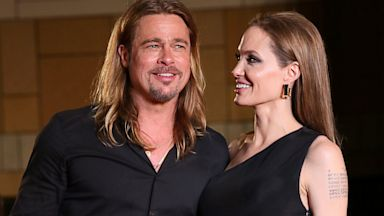 PHOTO: Angelina Jolie and Brad Pitt attend the World War Z Japan Premiere in Tokyo, Japan, July 29, 2013.