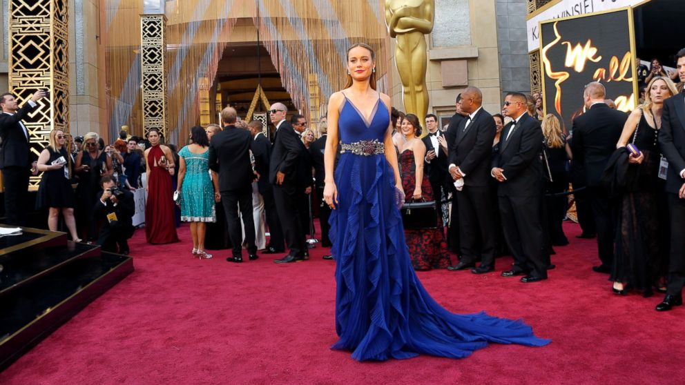 Brie Larson Oscars Dress: All About the Winner\'s Blue Gucci Gown ...