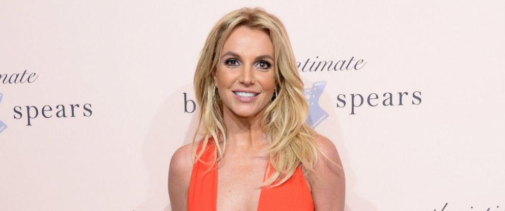 PHOTO: Britney Spears poses at the exclusive unveiling of The Intimate Britney Spears at New York Public Library - Celeste Bartos Forum, Sept. 9, 2014, in New York.