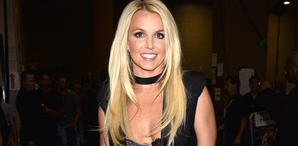 PHOTO: Britney Spears attends the iHeartRadio Music Festival at the MGM Grand Garden Arena in Las Vegas, Sept. 21, 2013.