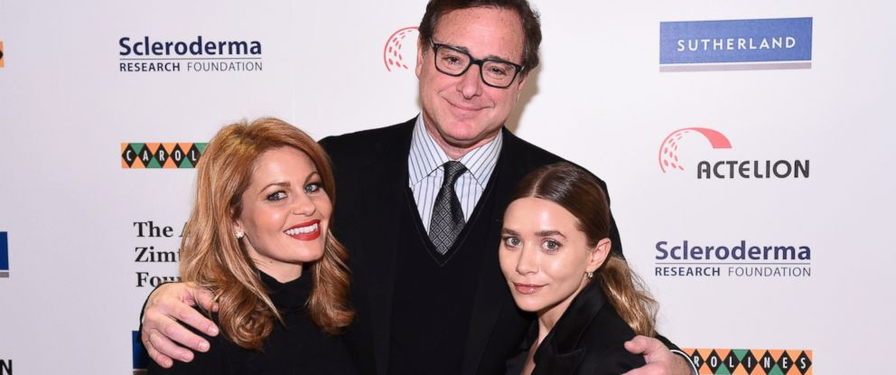 PHOTO: (L R) Candace Cameron Bure, Bob Saget And Ashley Olsen Attend Cool