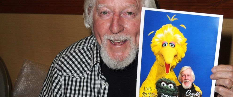 PHOTO: Caroll Spinney participates in the 2012 Monsterpalooza held at Burbank Airport Marriott, April 15, 2012, in Burbank, Calif.