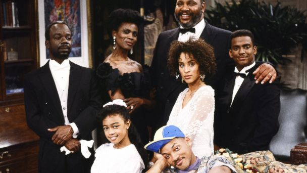 """PHOTO The cast of """"The Fresh Prince Of Bel-Air"""""""