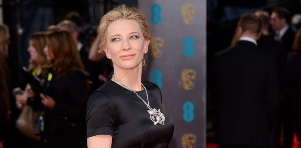 PHOTO: Cate Blanchett attends the EE British Academy Film Awards 2014 at The Royal Opera House on Feb. 16, 2014 in London.