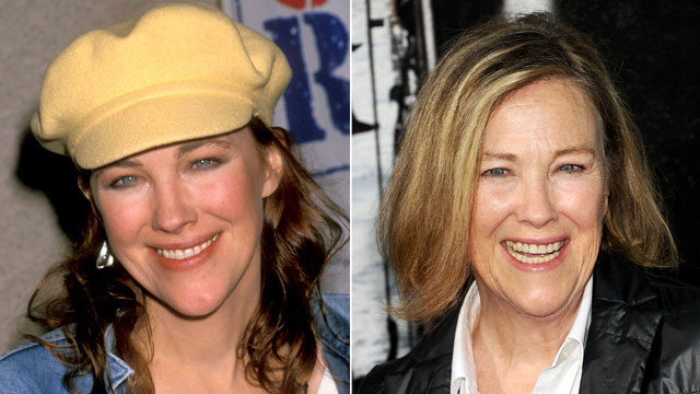 PHOTO:Catherine O'Hara then and now.