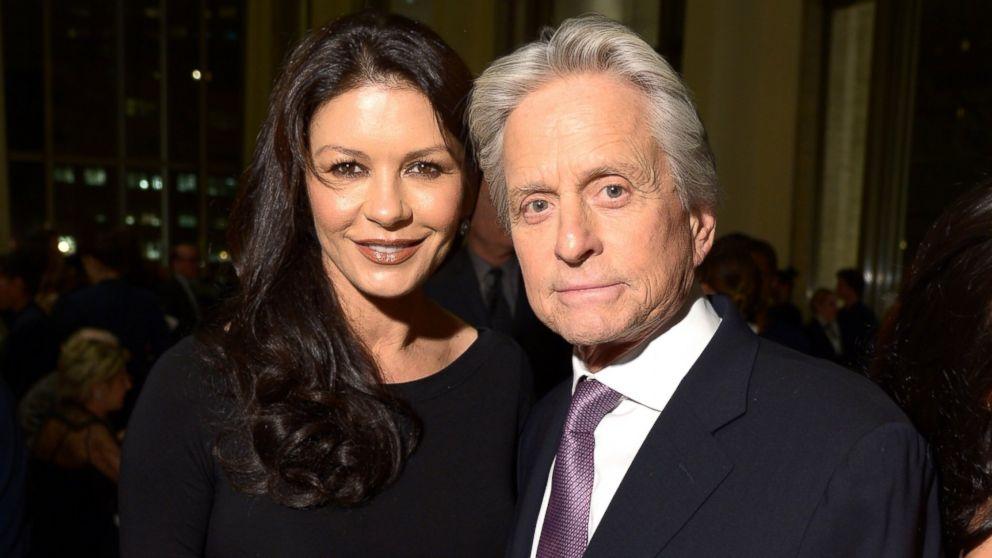 Майкл дуглас фото с женой