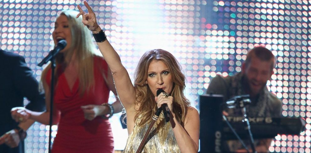 PHOTO: Celine Dion performs during the BAMBI Awards 2012 at the Stadthalle Duesseldorf in Duesseldorf, Germany, Nov. 22, 2012.