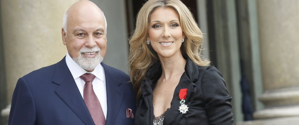 PHOTO:In this file photo, Celine Dion is pictured with her late husband Rene at the Elysee Palace in Paris, May 22, 2008.
