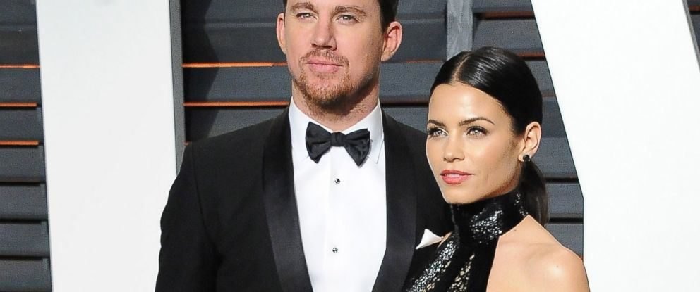 PHOTO: Channing Tatum and Jenna Dewan arrive at the 2015 Vanity Fair Oscar Party at Wallis Annenberg Center for the Performing Arts, Feb. 22, 2015, in Beverly Hills, Calif.