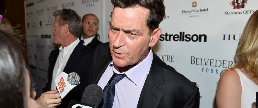 PHOTO: Charlie Sheen is pictured June 26, 2014, in Toronto.