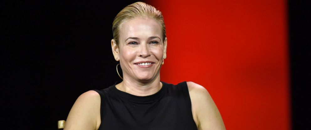 PHOTO: Chelsea Handler smiles during an event at the 2016 Consumer Electronics Show (CES) in Las Vegas, Jan. 6, 2016.