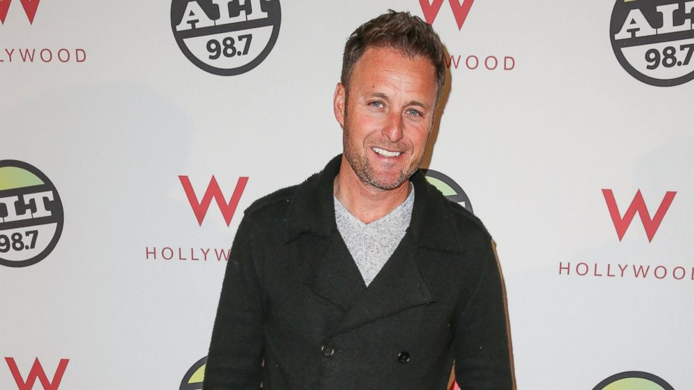 TV personality Chris Harrison arrives at the ALTimate Rooftop Christmas Party W/ Hollywood in this Dec. 9, 2013, file photo.