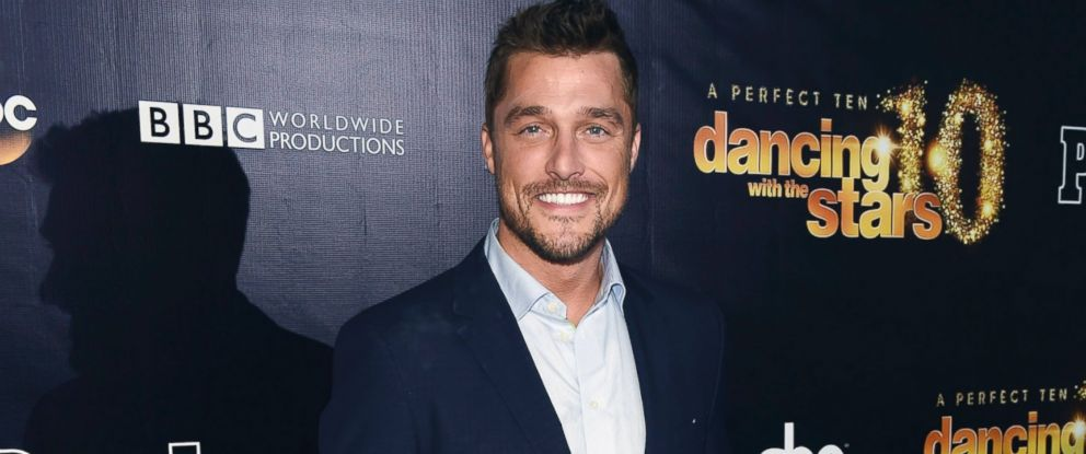"""PHOTO: Chris Soules arrives at the 10th anniversary of """"Dancing With The Stars"""" party at Greystone Manor, April 21, 2015, in West Hollywood, Calif."""