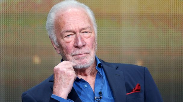 """PHOTO: Christopher Plummer speaks at the """"Muhammad Alis Greatest Fight"""" panel discussion during the 2013 Summer Television Critics Association tour, July 25, 2013, in Beverly Hills, Calif."""