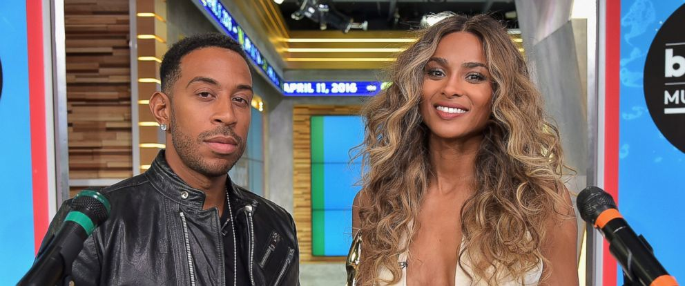 PHOTO: Ludacris and Ciara make the 2016 Billboard Music Awards finalists announcement at GMA Studios, April 11, 2016 in New York City.