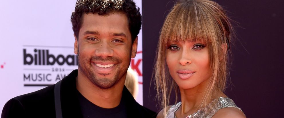 PHOTO: NFL player Russell Wilson and singer Ciara attend the 2016 Billboard Music Awards at T-Mobile Arena, May 22, 2016 in Las Vegas.