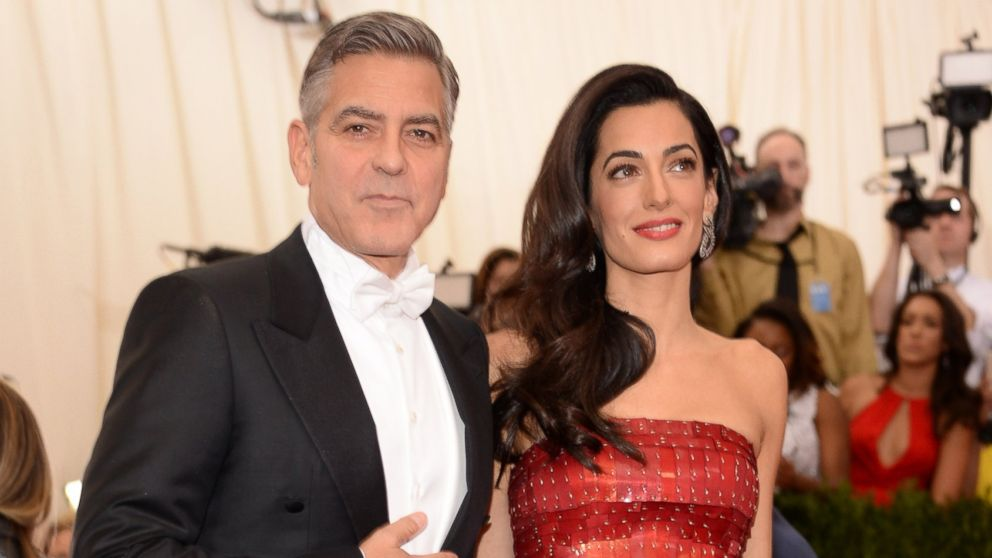 George Clooney Can't Stop Gushing About Wife Amal - ABC News