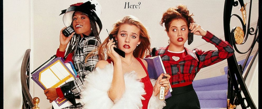 PHOTO: Poster for the movie Clueless, 1995.