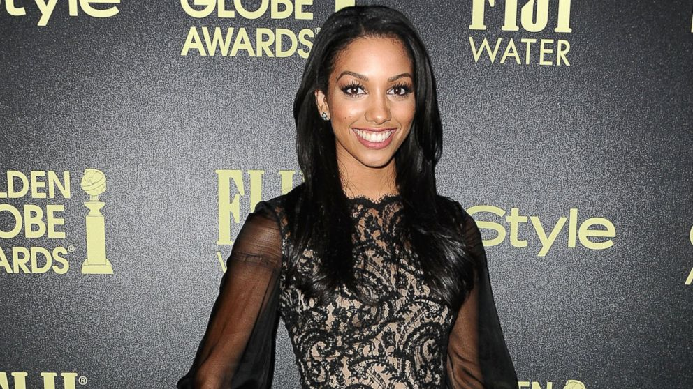 Miss Golden Globe 2016 Corinne Foxx attends the Hollywood Foreign Press Association and InStyle's celebration of the 2016 Golden Globe award season at Ysabel, Nov. 17, 2015, in West Hollywood, Calif.