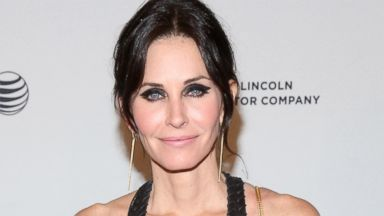 PHOTO: Courteney Cox is pictured on April 24, 2014 in New York City.