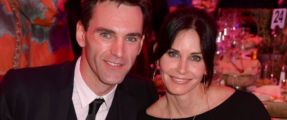 PHOTO: Courteney Cox and boyfriend Johnny McDaid in Los Angeles, March 21, 2014.