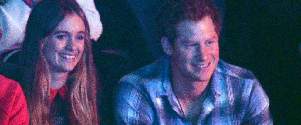 PHOTO: Cressida Bonas and Prince Harry attend We Day UK in London, March 7, 2014.