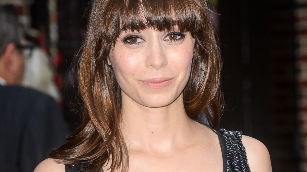 """Cristin Milioti leaves the """"Late Show With David Letterman"""" taping at the Ed Sullivan Theater, Oct. 1, 2014, in New York."""
