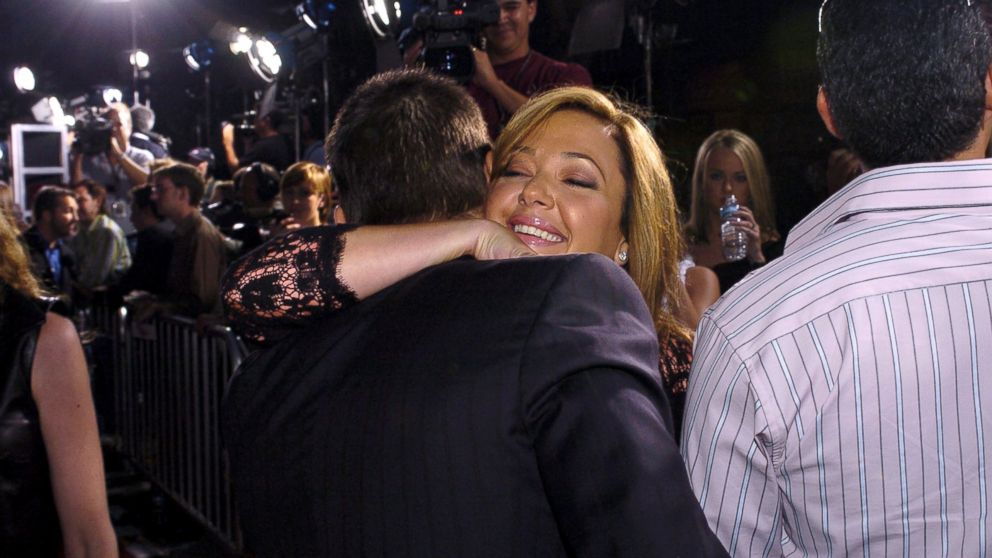 "Tom Cruise and Leah Remini during ""Collateral"" Los Angeles Premiere."