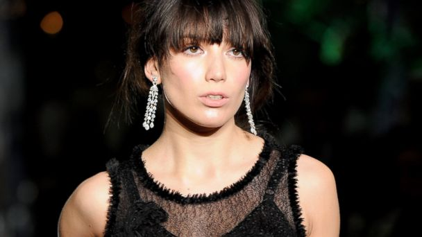 PHOTO: Daisy Lowe walks the runway during a fashion show at the Leon Max Winter Dinner and Dance for Too Many Women in support of Breakthrough Breast Cancer at Claridges Hotel, Dec. 1, 2011, in London.