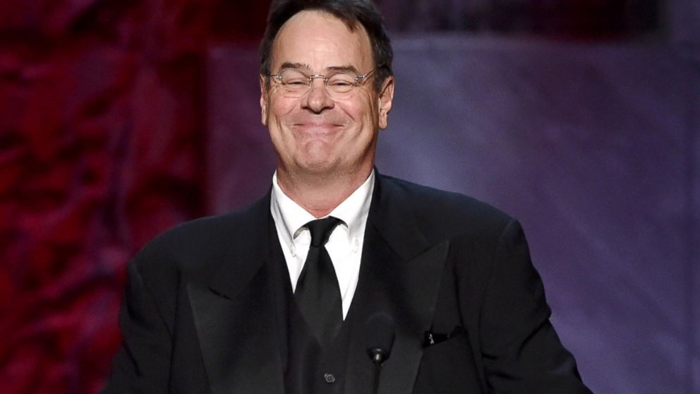 Dan Aykroyd speaks onstage during the 2015 AFI Life Achievement Award Gala Tribute Honoring Steve Martin at the Dolby Theatre, June 4, 2015, in Hollywood, Calif.