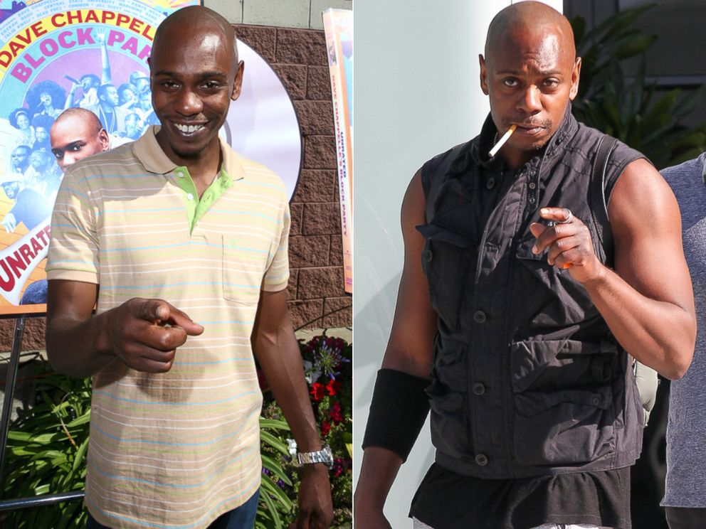 dave chappelle reveals shockingly buff new look abc news dave chappelle reveals shockingly buff