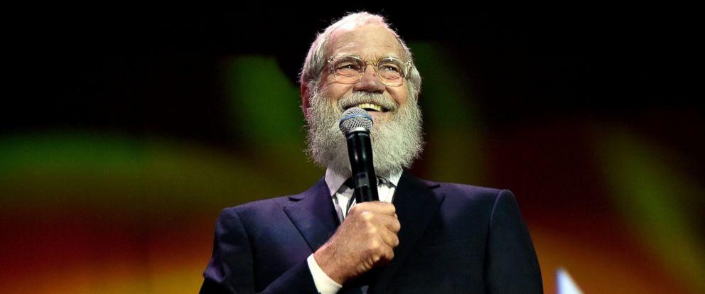 PHOTO: David Letterman speaks onstage, Nov.14, 2015, in New York City.