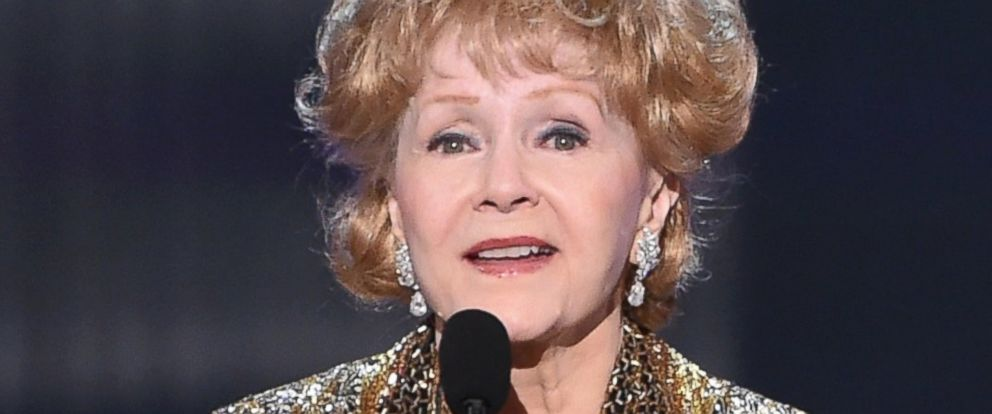 PHOTO: Honoree Debbie Reynolds accepts an award onstage at TNTs 21st Annual Screen Actors Guild Awards at The Shrine Auditorium on Jan. 25, 2015 in Los Angeles.