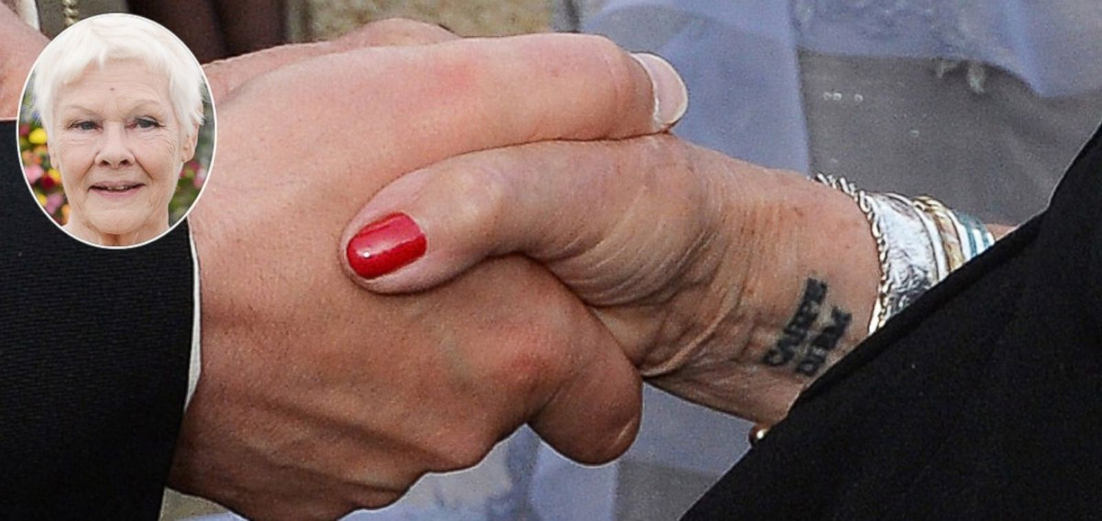 See the Tattoo Dame Judi Dench Got for Her 81st Birthday ...