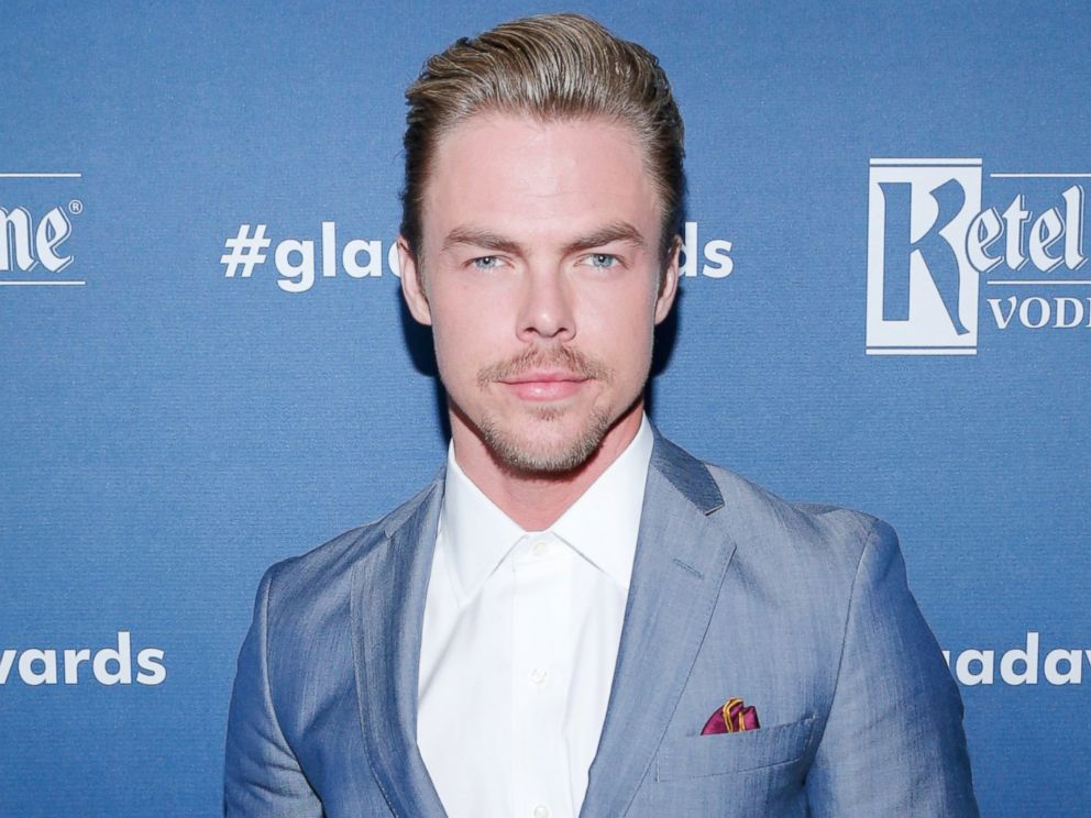PHOTO: Derek Hough attends the 27th Annual GLAAD Media Awards hosted by Ketel One Vodka at the Beverly Hilton, April 2, 2016 in Beverly Hills, Calif.
