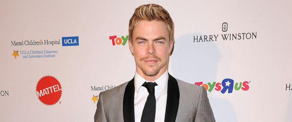 PHOTO: Dancer Derek Hough attends the Kaleidoscope Ball at Beverly Hills Hotel on April 10, 2014.
