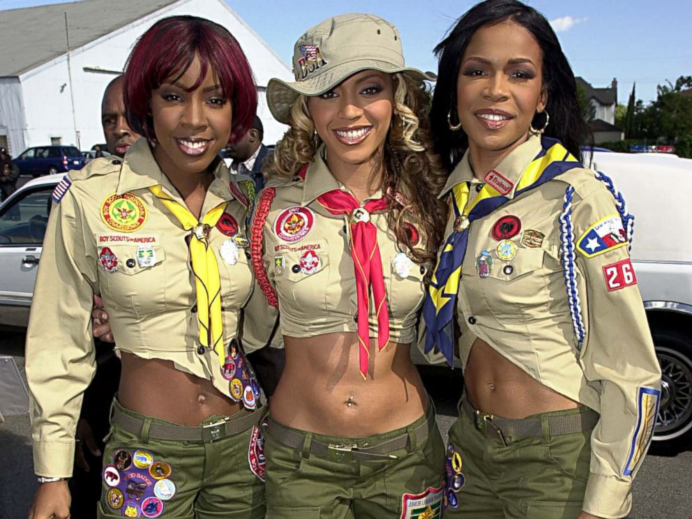 PHOTO: Kelly Rowland, Beyonce Knowles and Michelle Williams of Destinys Child.