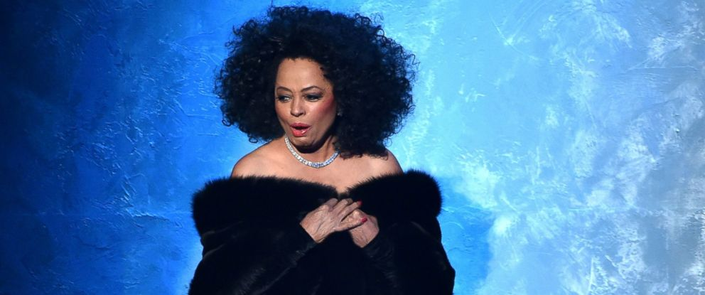 PHOTO: Recording artist Diana Ross walks onstage at the 2014 American Music Awards at Nokia Theatre L.A. Live in this Nov. 23, 2014 file photo in Los Angeles, Calif.