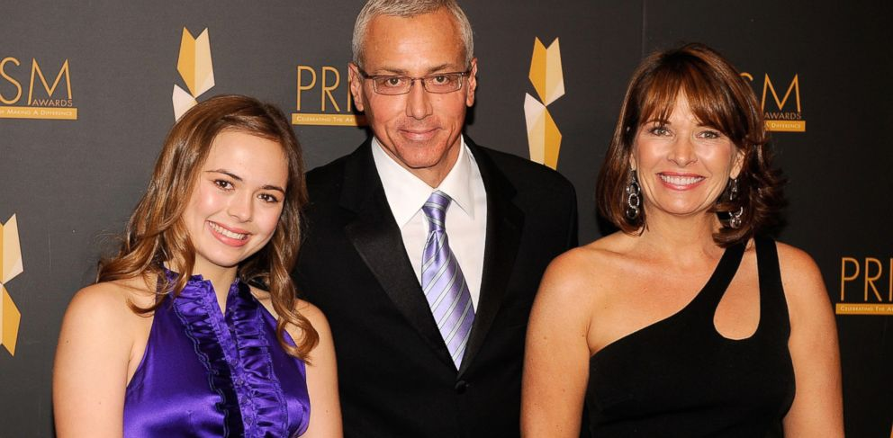 PHOTO: Paulina Pinsky, Dr. Drew Pinsky and Susan Pinsky attend The 2009 PRISM Awards held at the Beverly Hills Hotel, April 23, 2009 in Beverly Hills Calif.