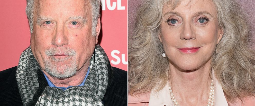 PHOTO: Richard Dreyfuss, left, is pictured on Jan. 27, 2015 in Park City, Utah. Blythe Danner, right, is pictured on May 11, 2015 in New York City.