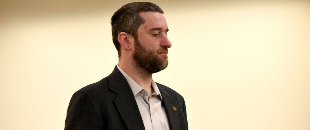 PHOTO: Dustin Diamond attends his arraignment at Ozaukee County Courthouse, Jan. 22, 2015, in Port Washington, Wisc.