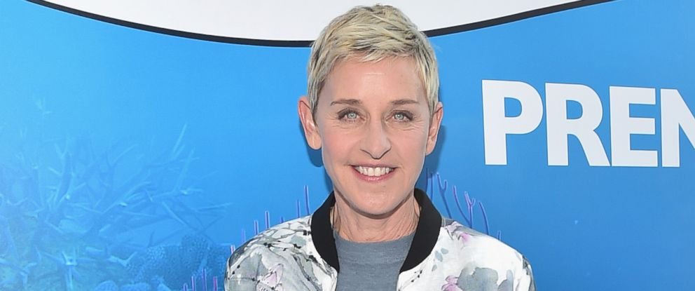 """PHOTO: Actress Ellen DeGeneres attends The World Premiere of Disney-Pixars """"Finding Dory,"""" June 8, 2016, in Hollywood, Calif."""