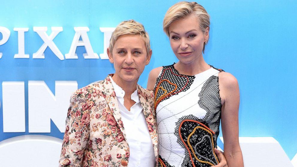 Ellen degeneres 39 can t imagine not being married 39 to for Ellen degeneres and portia de rossi story