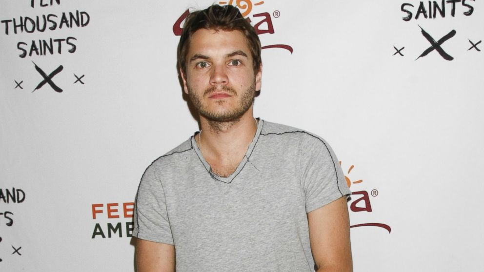Emile Hirsch is pictured on Jan. 24, 2015 in Park City, Utah.