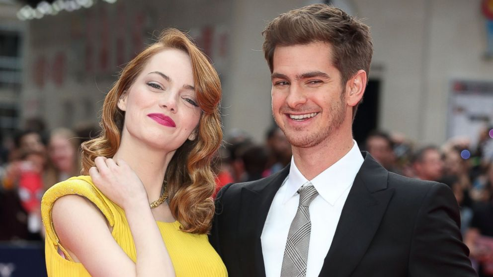 Watch Emma Stone Make Andrew Garfield Eat His Words About What S Feminine Abc News