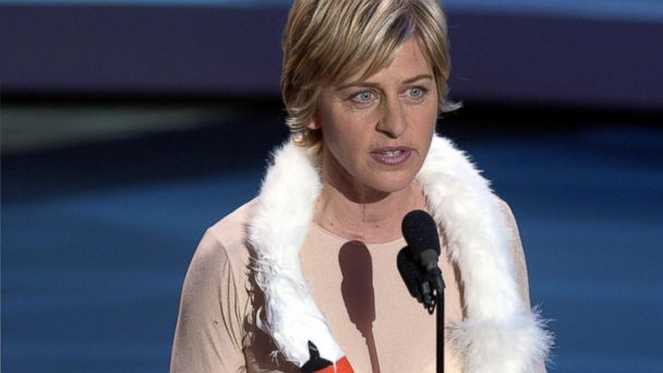 PHOTO: Ellen DeGeneres hosts the 53rd Annual Primetime Emmy Awards.